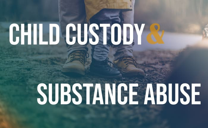 child custody drug use by other parent
