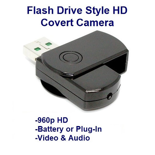 Flash Drive Style Covert HD Video Camcorder