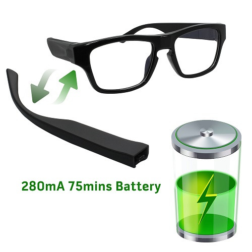 9ca392cfb2303 High Tech Touch Eyeglasses Hidden Camera - 1080P