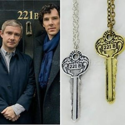 sherlock necklace gifts