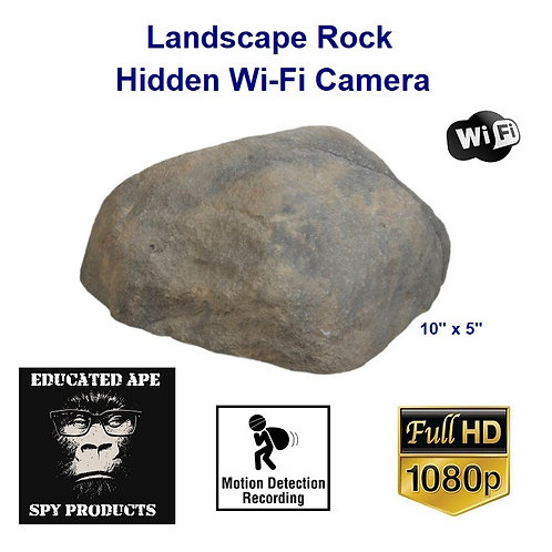 Landscape Rock Hidden Camera