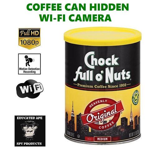 Coffee Can Hidden Wi-Fi Camera