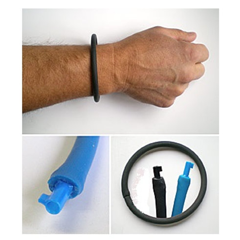concealed backup handcuff key police gear