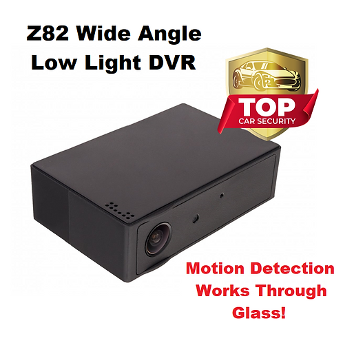 Z82 Black Box DVR - Wide Angle - Motion Detector Works Thru Windows