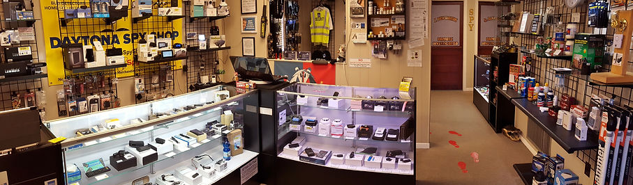 Daytona Spy Store, Hidden Cameras, Spy Gear, Spy Gadgets, Tasers, GPS Trackers, Stun Guns, Pepper Spray, Biker & Tactical Knives