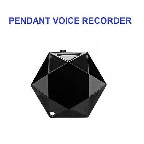 Pendant Voice Recorder - Round