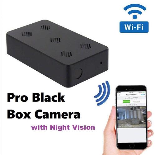 Pro Black Box Night Vision Wi-Fi Camera