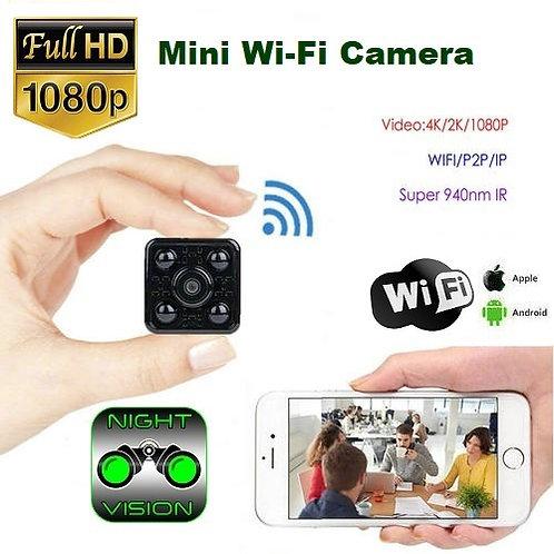 Mini Wi-Fi Cube Camera - Night Vision & Wide Angle