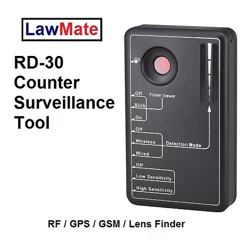 Lawmate RD-30 Bug Detector