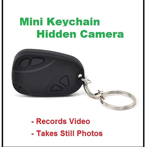 Mini Key Chain Hidden Camera