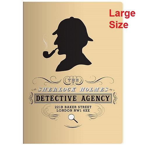 Sherlock Holmes Large Notebook