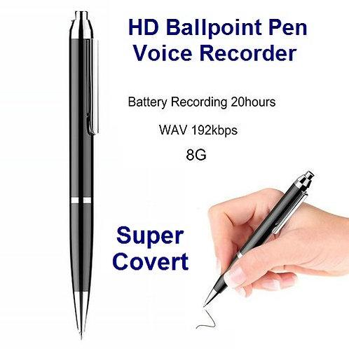 HD Ballpoint Pen Voice Recorder