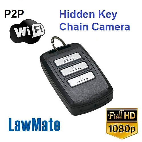wifi spy camera concealed in key chain