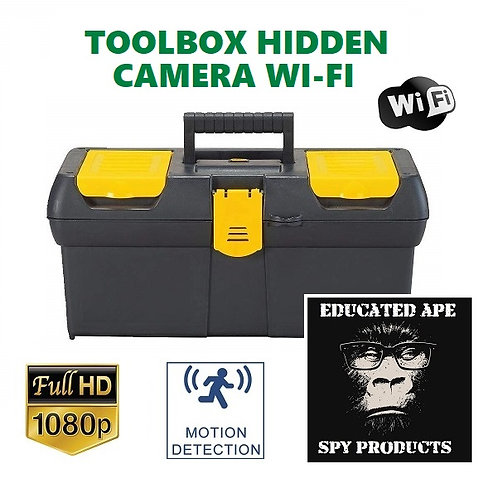 Toolbox Hidden Wi-Fi Camera