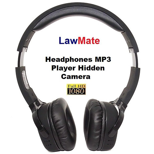 Lawmate Hidden Camera Headphones
