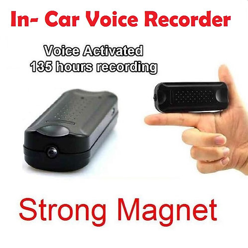 Magnetic In-Car Voice Recorder