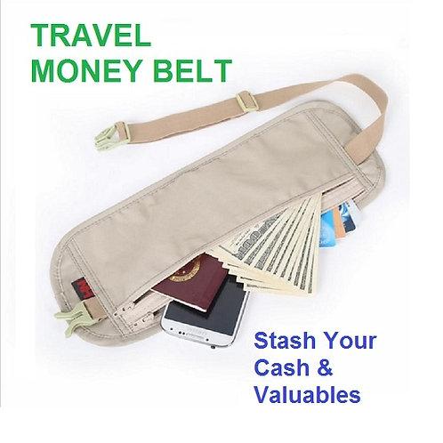 Travel Money Belt - 2 Colors
