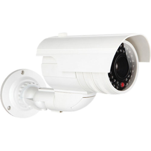 Bullet Style Dummy Security Camera - White