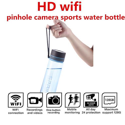 Wi-Fi Water Bottle Hidden Camera