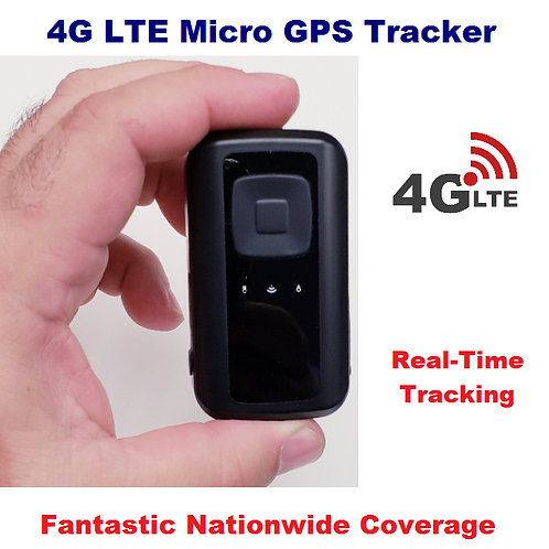 Personal GPS Tracker - 4G LTE