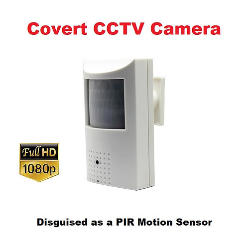 Covert CCTV Camera - PIR Motion Sensor - 2MP