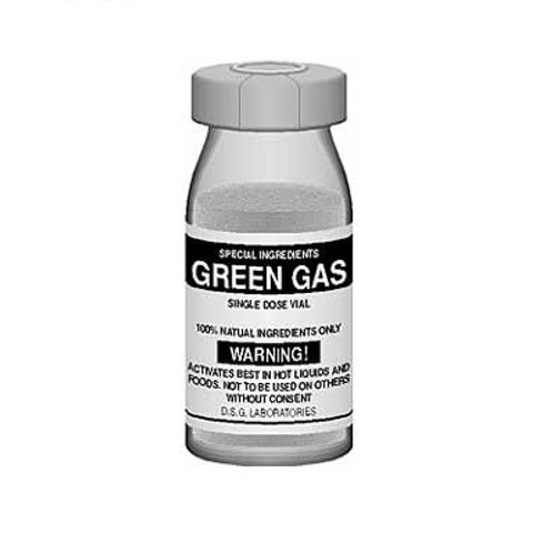 """Green Gas - """"Special Ingredients"""""""