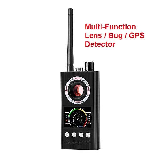 Multi Function Lens /Bug / GPS Detector
