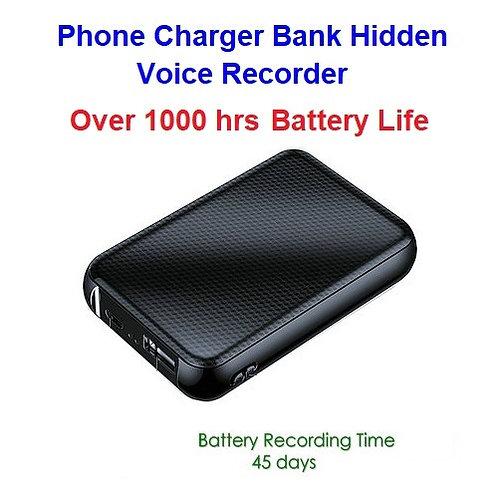 Battery Charger Hidden Voice Recorder - Huge Battery