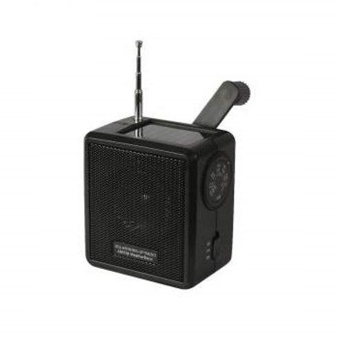 Solar / Wind-Up AM/FM Weather Band Radio