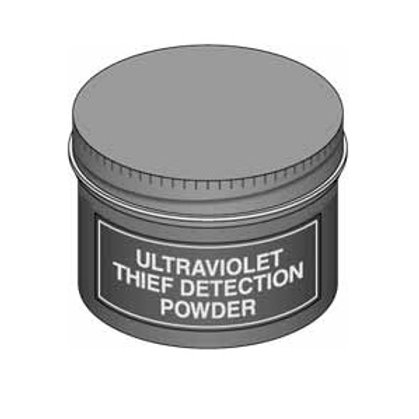 uv thief detection powder invisible