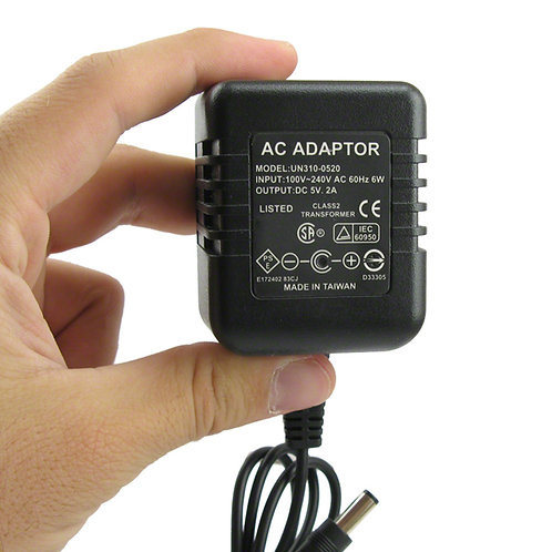 LawMate AC Adapter Hidden Camera - DVR
