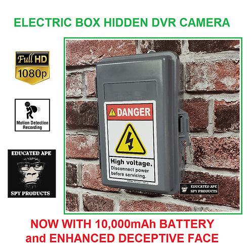 Electrical Box Hidden Camera DVR