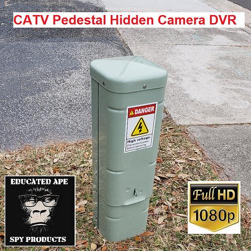CATV Pedestal Hidden Camera DVR