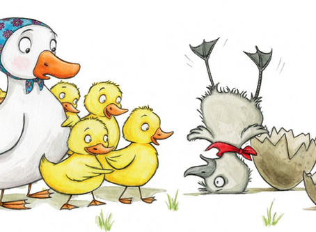 The story of the Ugly Duckling...A Reflection