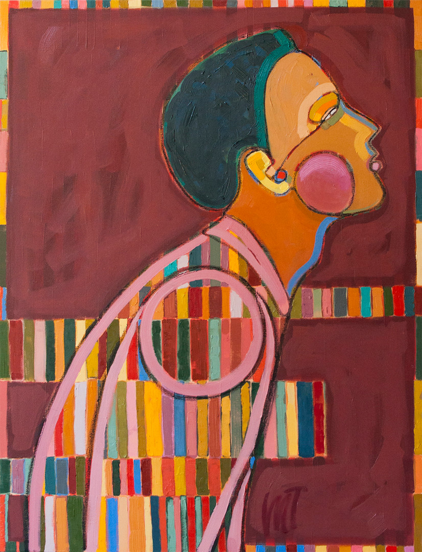 Miriam Tribe_The Pacer_oil on canvas_s3.