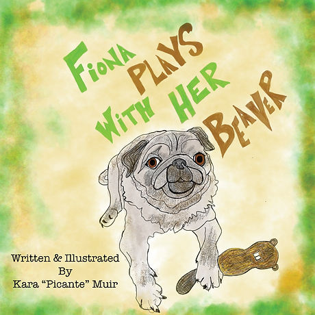 Fiona Plays With Her Beaver Cover Art