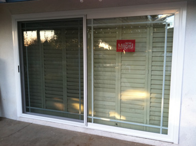 Milgard sliding door