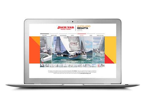 Regatta Website Design