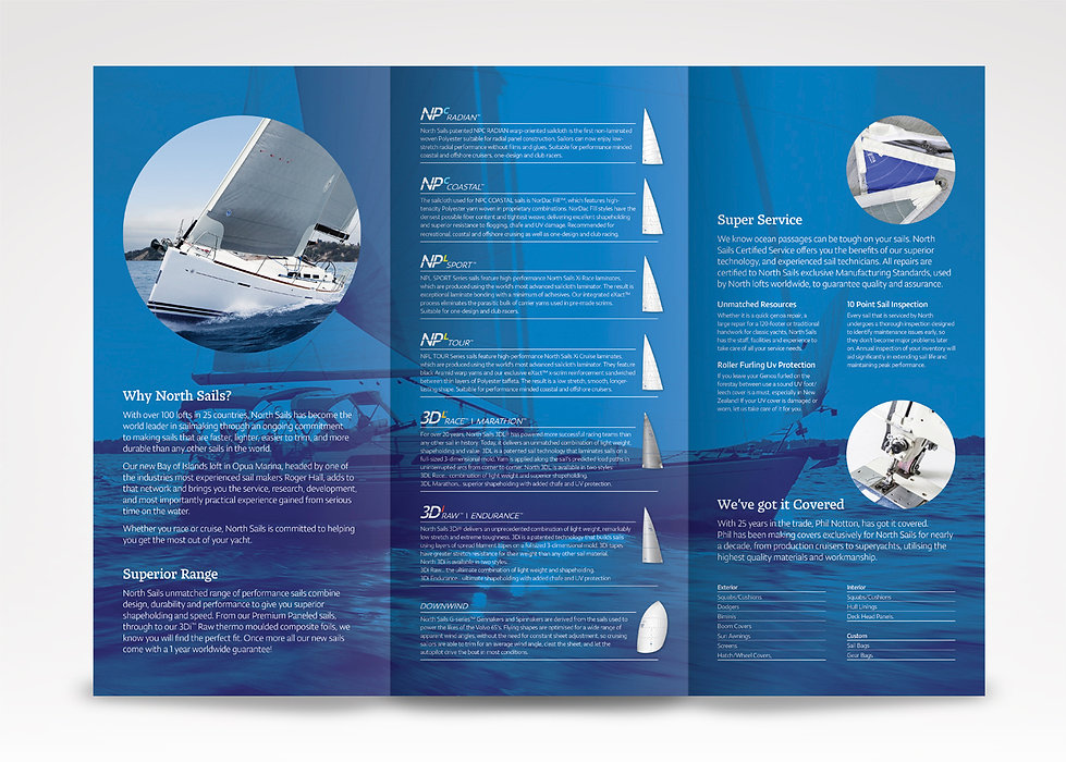 Marine Brochure Design
