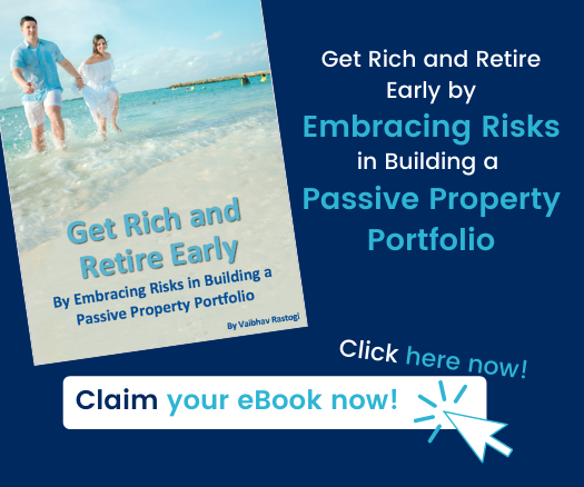 Property investing is very rewarding and is risky at the same time, more so given the high leverage involved in this asset class. Once you effectively manage the downside risks, you can expect reasonable returns from your investments.  ​  This guide demystifies the risks associated with the property investing and more importantly, helps you embrace the risks effectively to Get Rich and Retire Early.