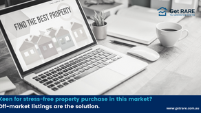 Keen for stress-free property purchase in this market? Off-market listings are the solution.