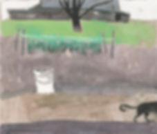 """Garden"" (color paper, mixed media) 26x22.5 cm, 289 $"