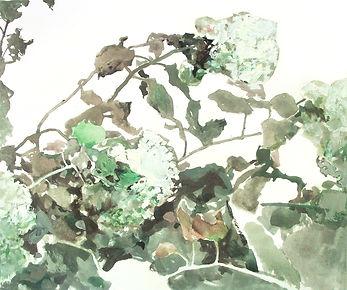 """""""Buldenezh"""" (paper, mixed media) 23.5x19.5 cm, 439 $"""