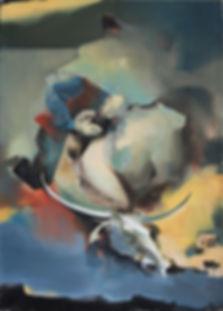 """Goodbye"" (oil on canvas) 70x50 cm, 1082 $"