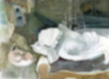 """""""Insomnia"""" (paper, mixed media) 42x29 cm, 585 $"""