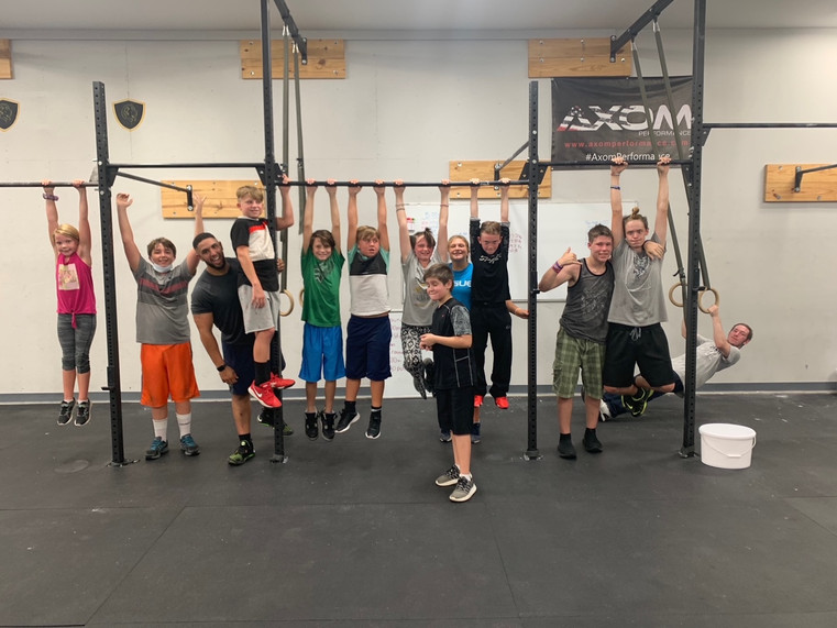 Just Hanging Around @ Sullivan CrossFit
