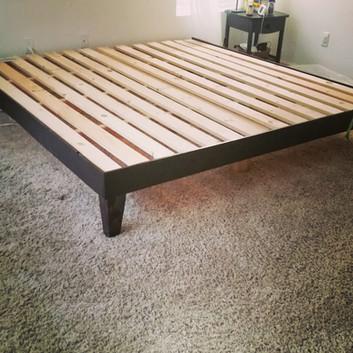 Custom bed-frame