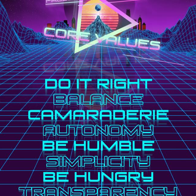 Department Core Values