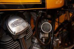 Ducati bevel-drive