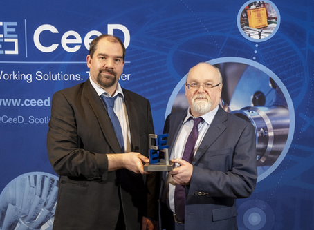 UWS ITFSI Industry Partner Helia Photonics Ltd wins CeeD 2020 Award